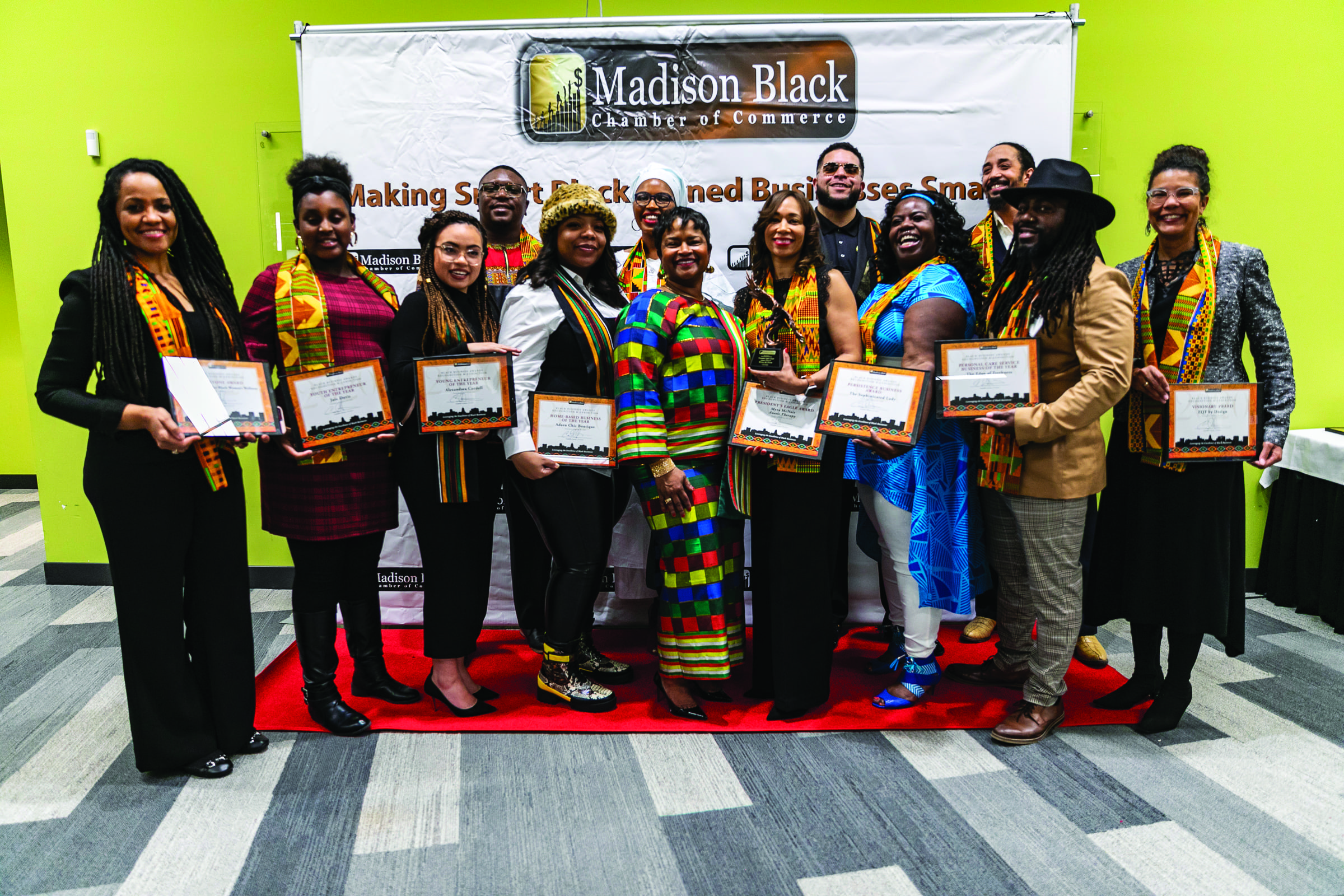 Madison Black Chamber of  Commerce Black Business Awards Recognition & Exhibition