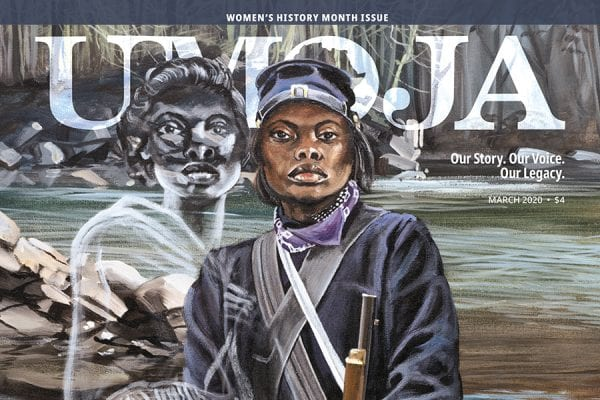 Female Buffalo Soldier Private Cathay Williams