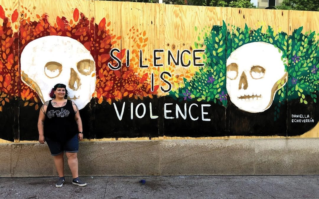 Daniella Echeverría: 'I Did NOT Paint the Mural to Make State Street Pretty or Palatable to White People'